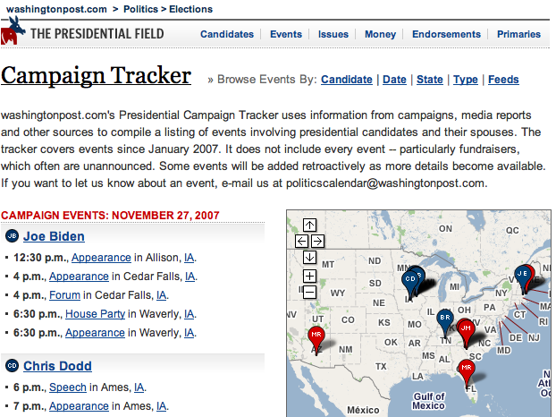 wash post election tracking