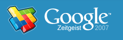 google 2007 zietgiest