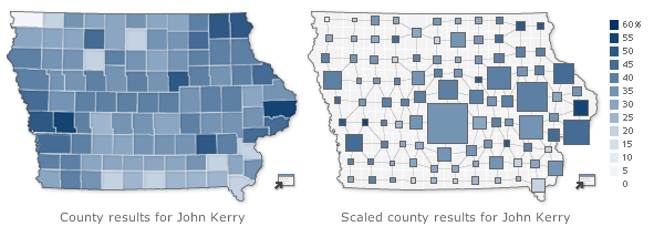 Scaling counties