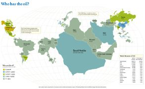 oil cartogram