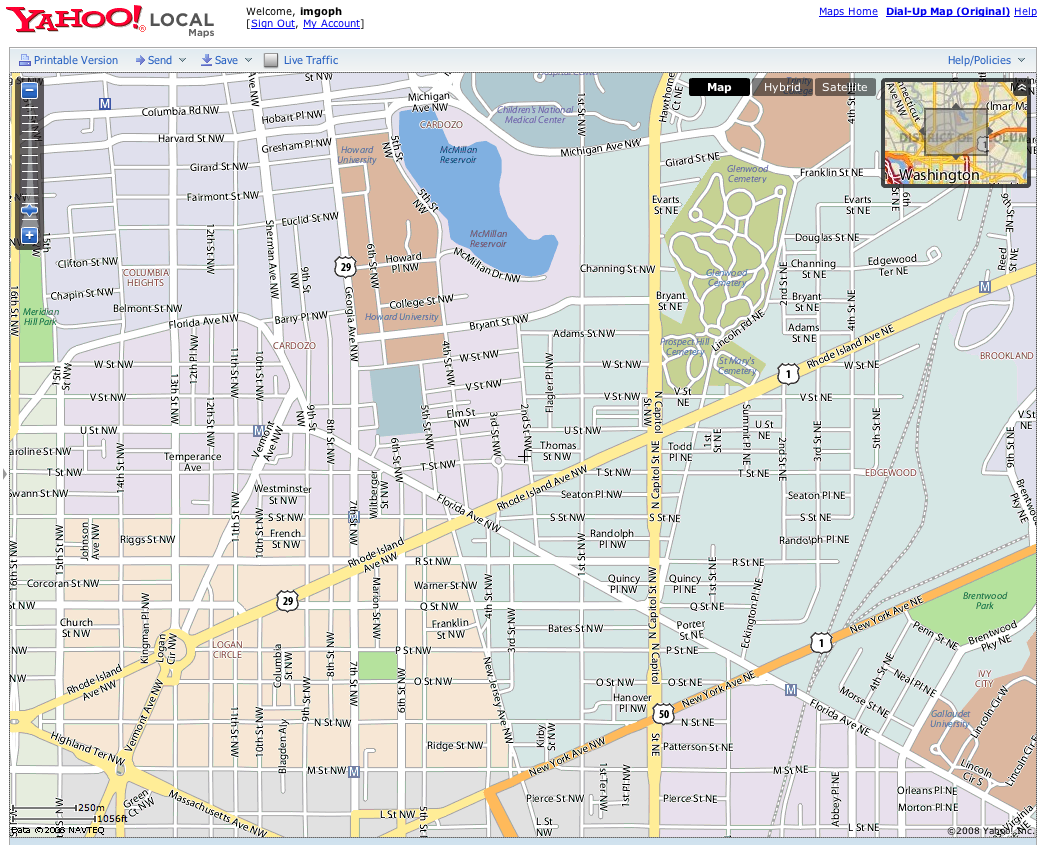 yahoo maps local neighborhood polygon fills