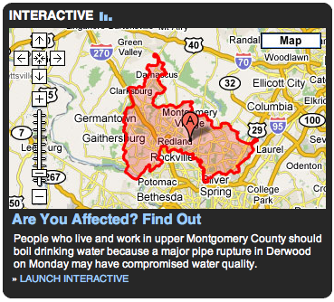 mo co water restrictions mashup screenshot