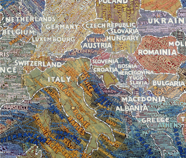 paula scher europe detail