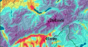precip swiss atlas