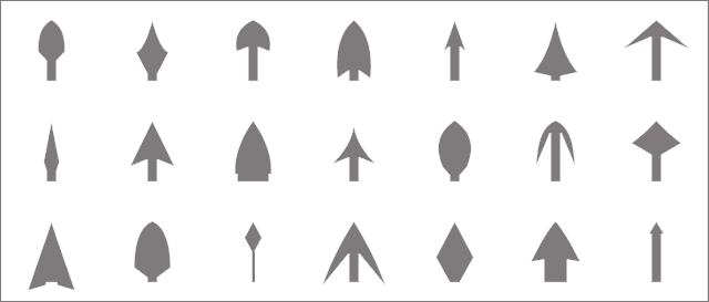 flash arrows