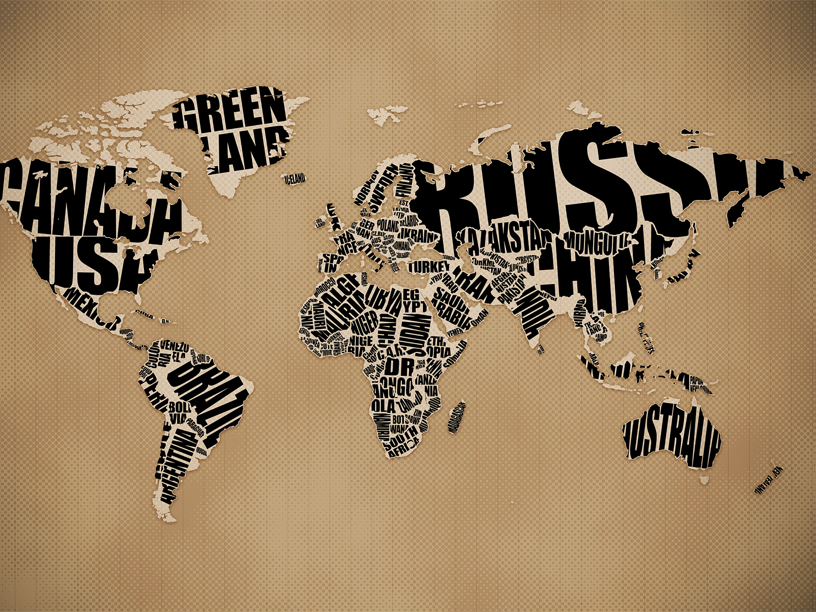 Typographic world map desktop wallpaper vlad studio kelsos corner desktop mobile gumiabroncs Image collections