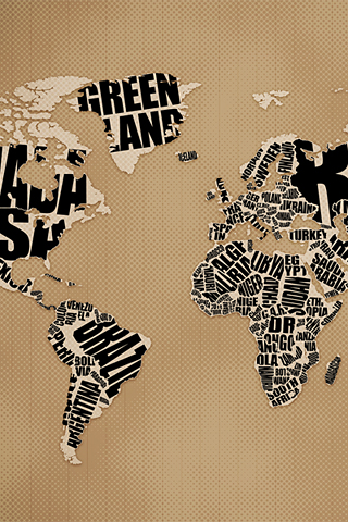 Typographic world map desktop wallpaper vlad studio kelsos corner tags desktop wallpaper gumiabroncs Images