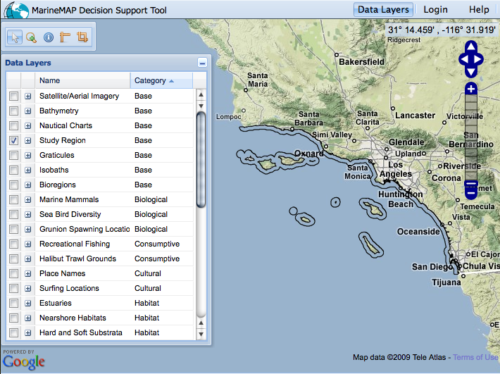 marinemapsupporttool