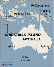 christmasislandmap